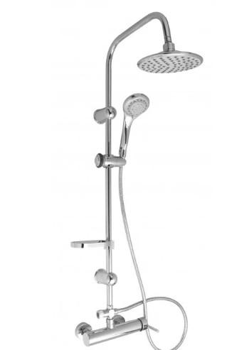 Комплект за душ с тръбно окачване Cascada PL102HE-1