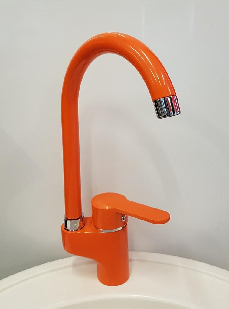 Смесител за Кухня модел PE 105 Оранжев
