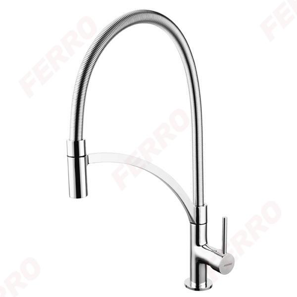 Maestro - Смесител стоящ за мивка с подвижен душ BMS4