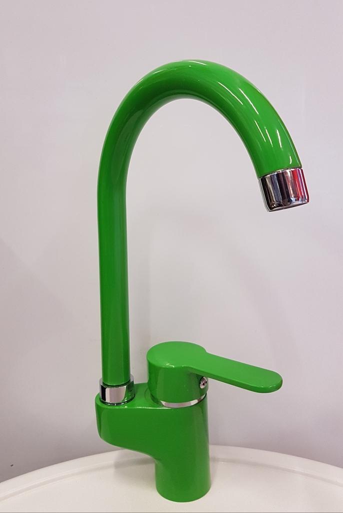 Смесител за Кухня модел PE 105 Зелен