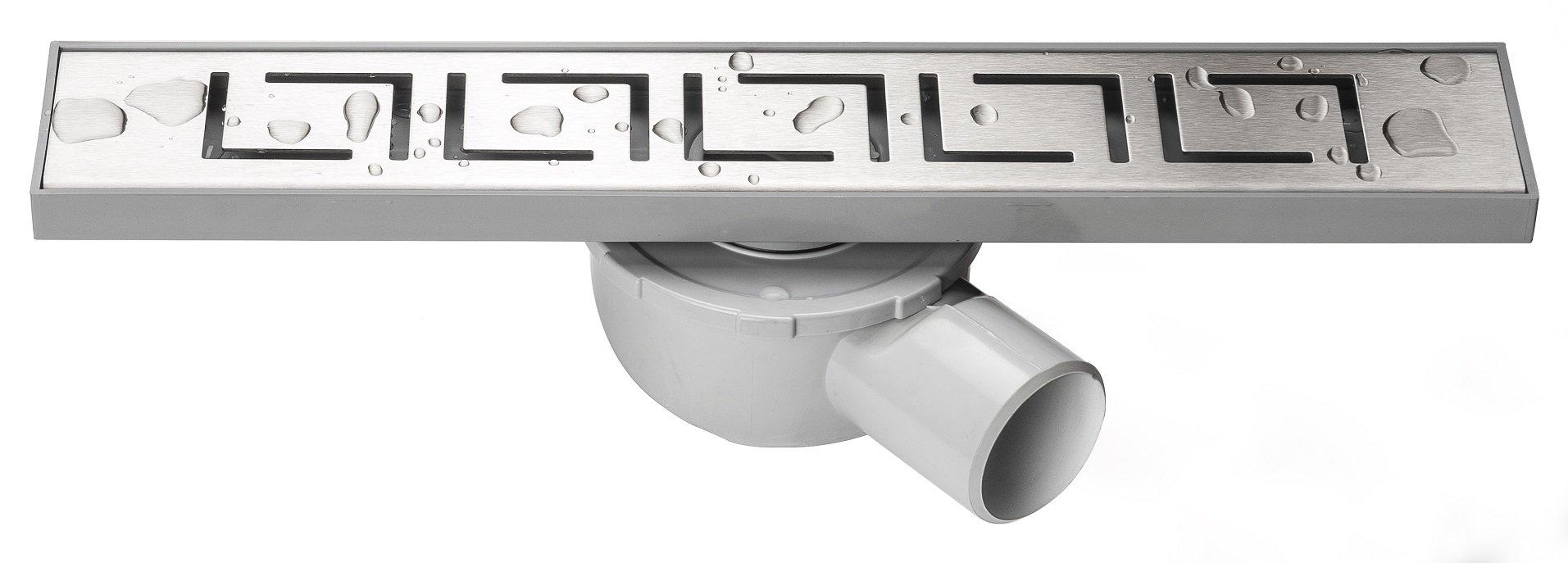 Линеен сифон - Серия MIRA - 40 см решетка версаче