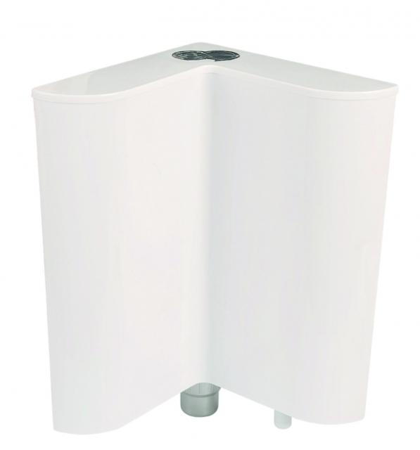 Тоалетно PVC казанче - ЪГЛОВО ICC 044V