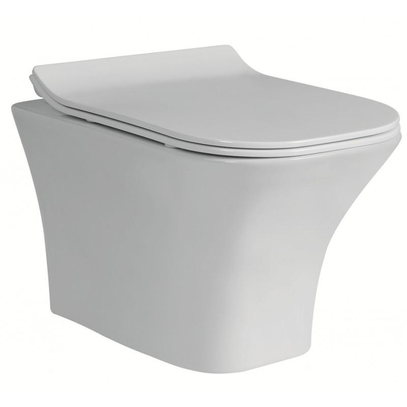 Стенна тоалетна чиния ICC 3435W SLIM