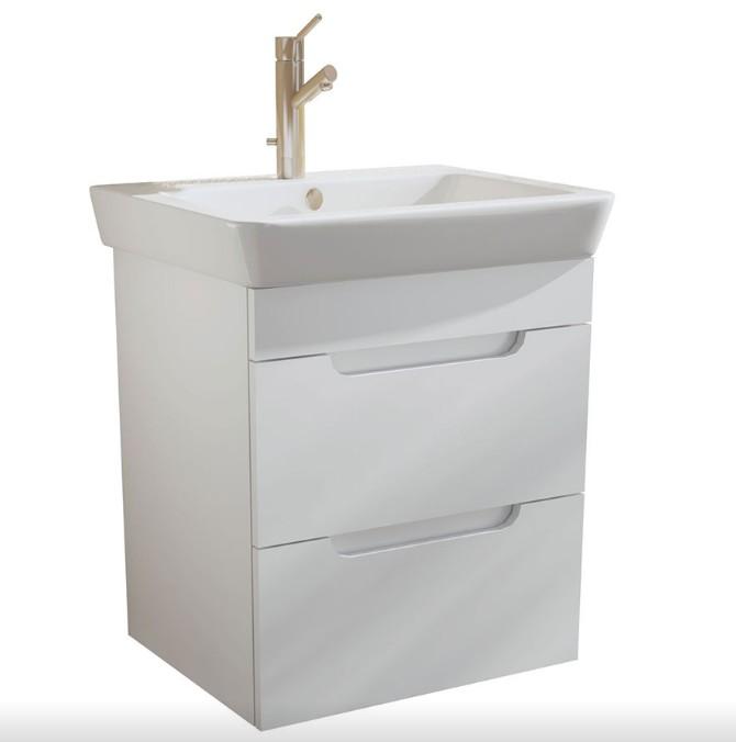 PVC шкаф за баня CASERTA 60см