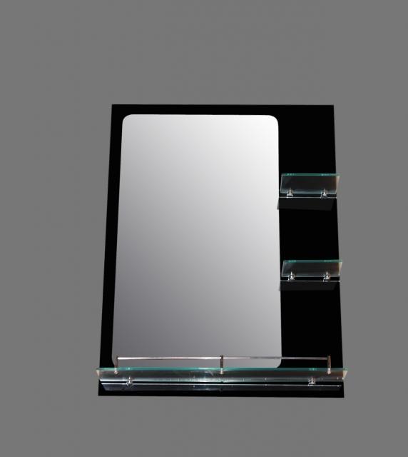 Черно огледало МАГНОЛИЯ с лавици