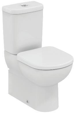 WC комплект къса проекция 60 см TEMPO