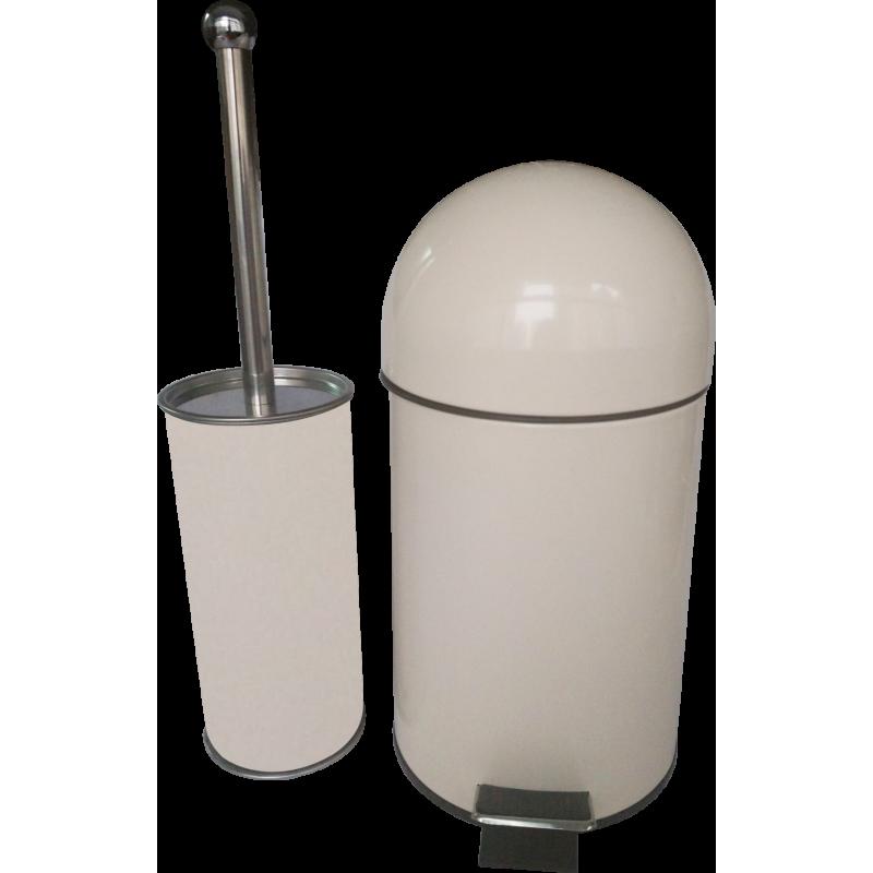 Тоалетно кошче за баня ICA 8283 BEIGE /3л./