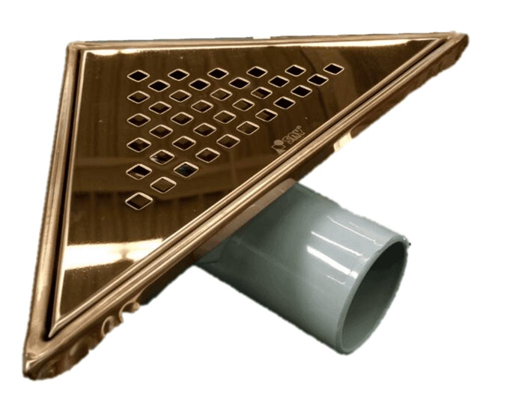 Триъгълен сифон - бронз