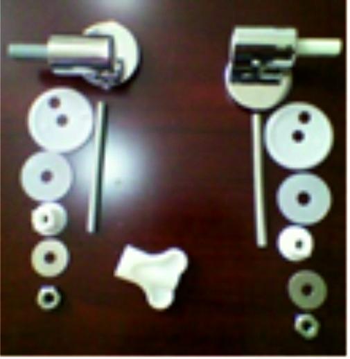 Метални планки за тоалетна седалка 1011А