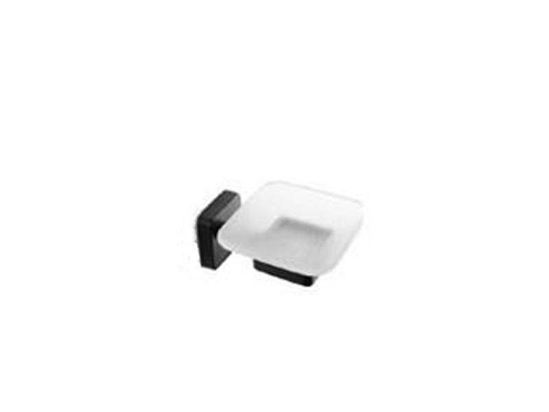 Стъклена сапунерка Quattro Black