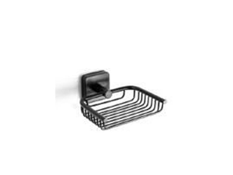 Двойна решетъчна сапунерка Quattro Black