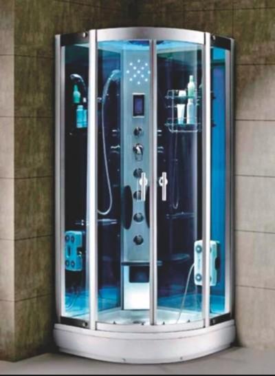 Хидромасажна душ кабина Cascada 2711 овал 90x90x215см