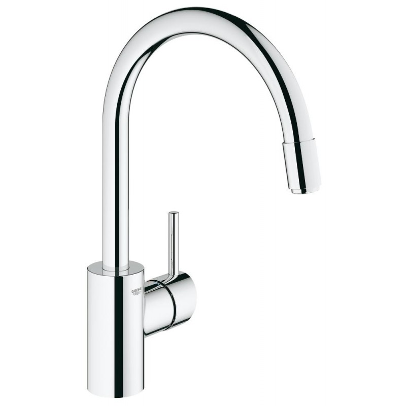 Смесител едноръкохватков за кухня Concetto GROHE Concetto 32663001