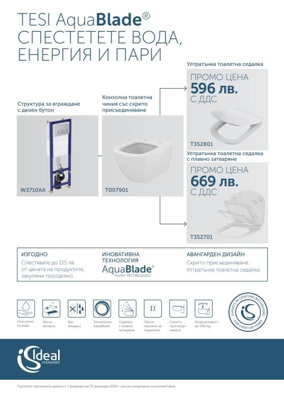 TESI AquaBlade® промо комплект