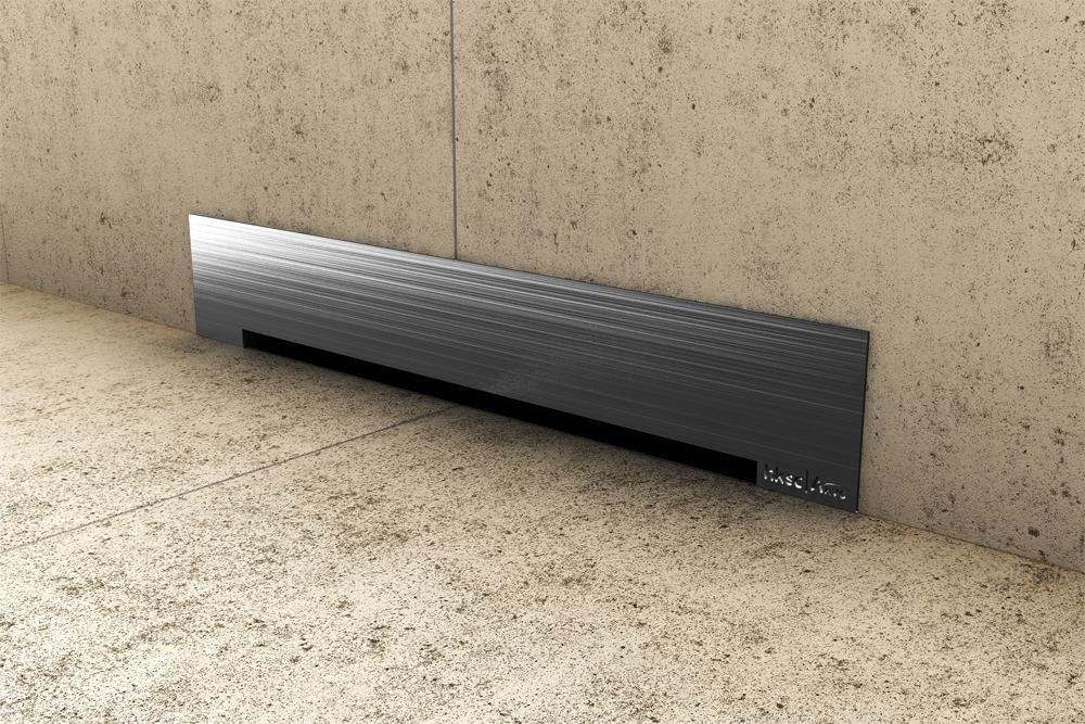 Стенен сифон за баня 40см