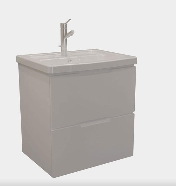 PVC шкаф за баня SOFT 57см