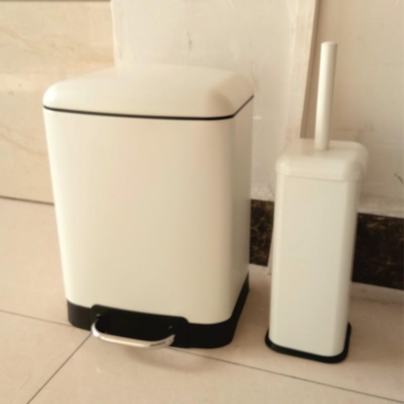 Тоалетно кошче за баня ICA 8286W /6л./