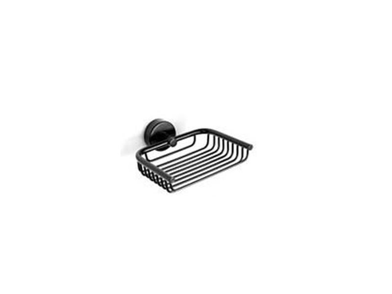 Решетъчна сапунерка Moderno Black