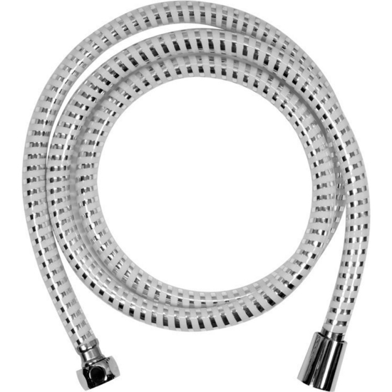 Шлаух за душ FALA, PVC, SILVER - WHITE, 1/2, 200 см