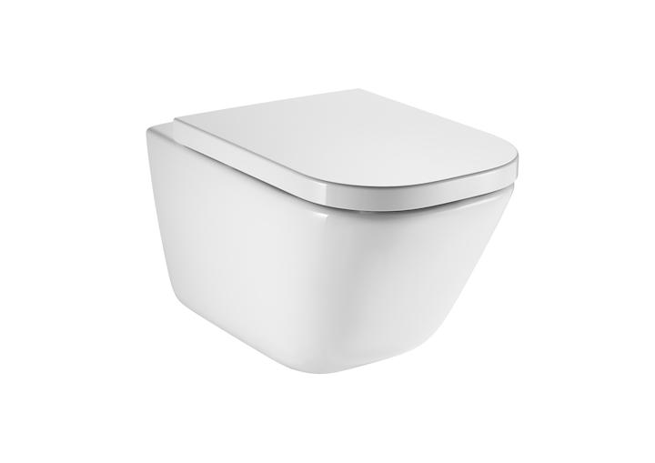 The Gap Компактна порцеланова тоалетна за окачване на стена Rimless