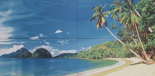 Декор Плаж №4 сет 4 части /Compozicion №4 Plage /