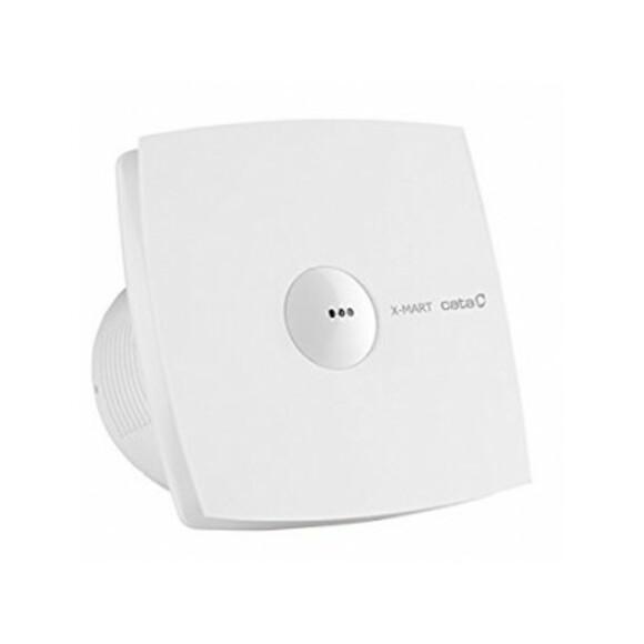 003544 X-MART 10 MATIC вентилатор ф100 бял с клапа