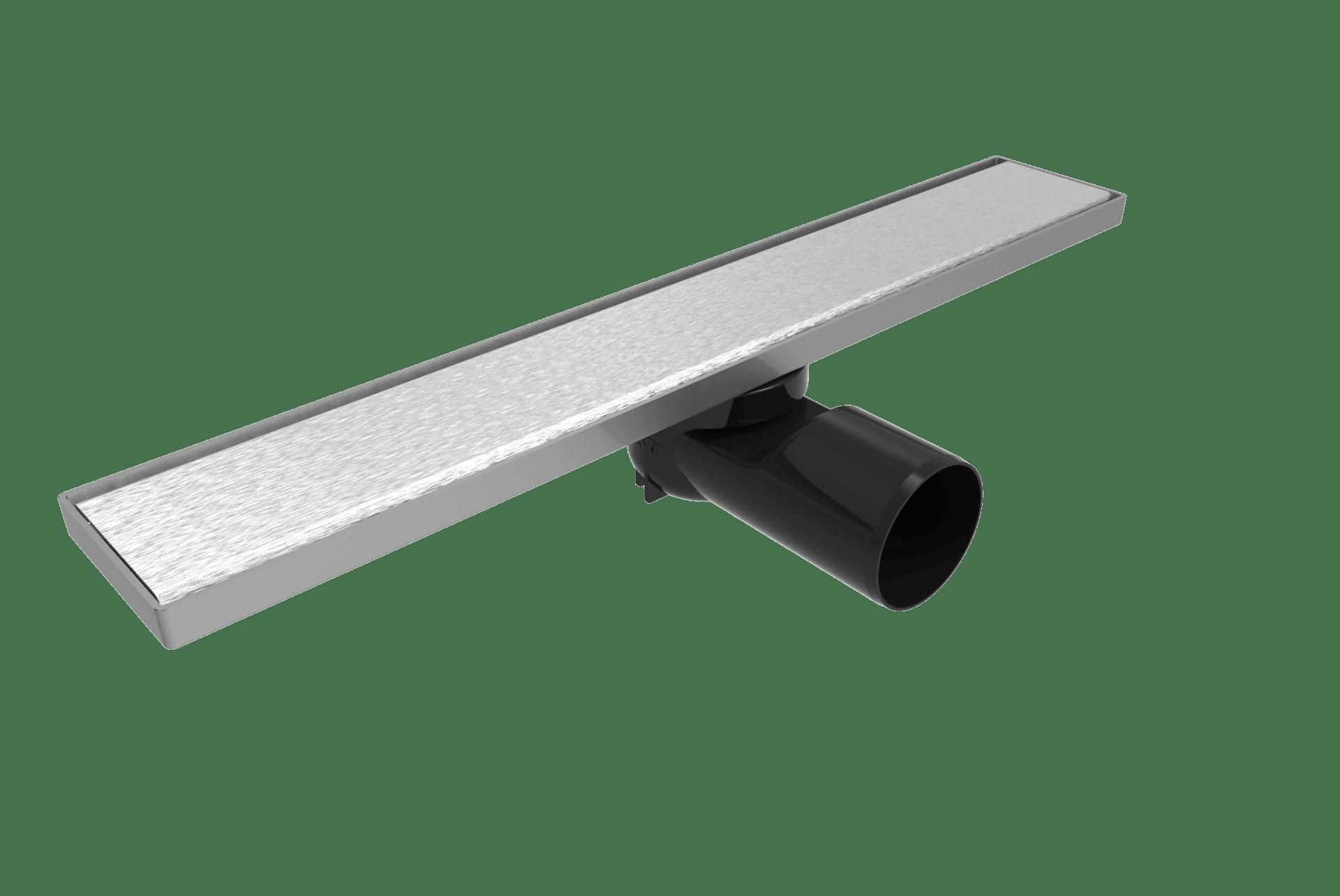 Линеен сифон 40 см - Серия PB - плътна решетка, клапа против миризми