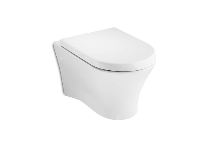 Nexo Порцеланова тоалетна за окачване на стена с хоризонтално оттичане