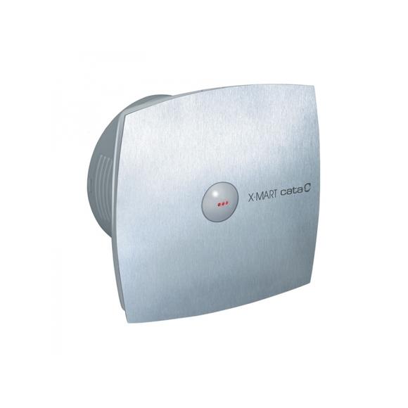 003728 X-MART 10 MATIC INOX вентилатор ф100 инокс с клапа