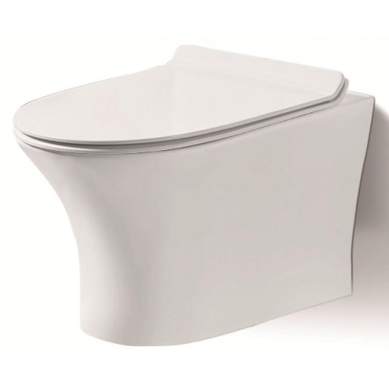 Стенна тоалетна чиния ICC 3635W SLIM