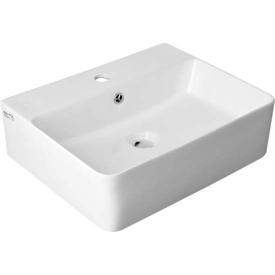 Мивка върху плот за баня FALA, TOP 52 СМ