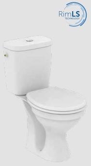 WC комплект SevaFresh Rimless 833701
