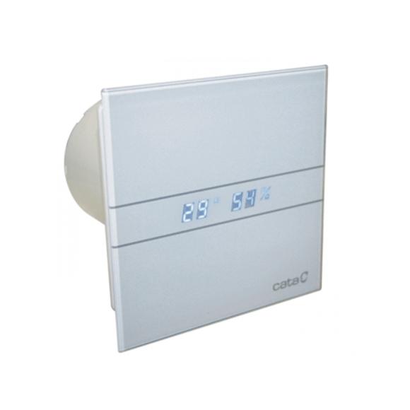 049634 E-100 GTH Hygro Вентилатор с датчик за влага и таймер Ф100 бял