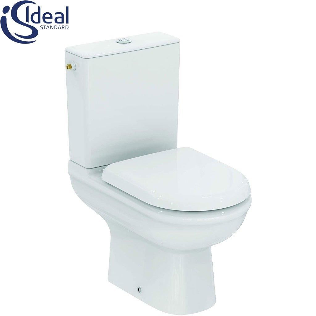 WC комплект Exacto със седалка с плавно затваряне