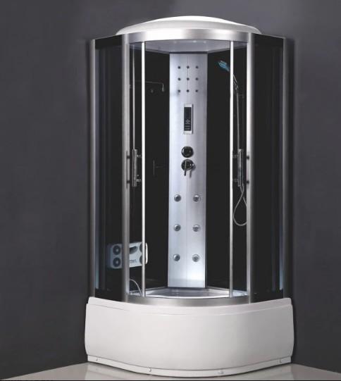 Хидромасажна душ кабина Cascada 5001 овал 90x90x215см