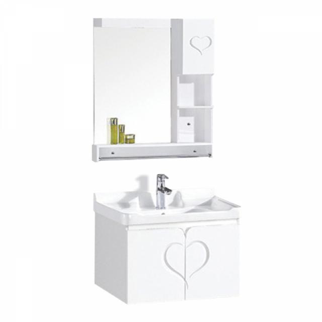 PVC шкаф за баня, комплект