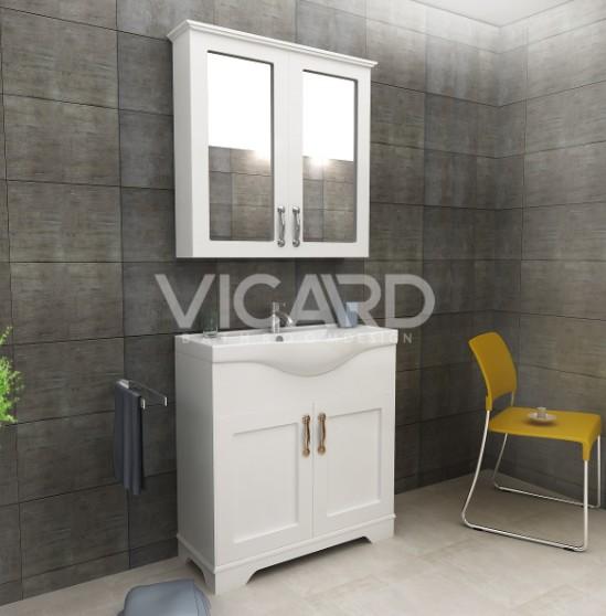 Мебел за баня к-кт Валенсия 80см